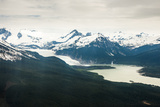 An Aerial View of the Mendenhall Glacier
