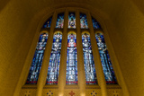 Stained Glass Windows in the Hall of Memory of the Australian War Memorial