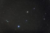 Comet Lulin Near Bright Star Regulus  in Constellation Leo