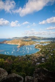 The View of Antigua's Dramatically Shaped Coastline from Shirley Heights