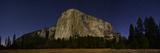 El Capitan from Capitan Meadow in Moonlight  Just before Dawn