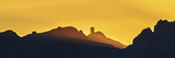 A Sunset View of the Kitt Peak Observatory  High Atop a Mountain