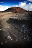 A Cinder Cone Looms Along the Road to the 13 796-Foot High Mauna Kea Observatory