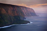 The Cliffs Above Waipi'O Bay at Sunrise