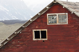 An Old Building with Broken Windows at the Abandoned Kennecott Copper Mine