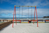 A Swingset on False Bay at Fish Hoek