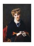 The Pensive Beauty  1870