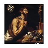 Penitent St Dominic  1621