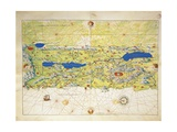 Holy Land  Israel and Palestine  from Atlas of the World in Thirty-Three Maps  1553