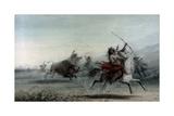 Bison Hunt  1858
