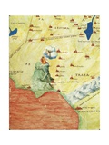 Nile River Delta  Red Sea and Mount Sinai  from Atlas of the World in Thirty-Three Maps  1553