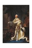 Portrait of Louis XVI of France  King of France and Navarre
