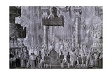 Coronation of Ferdinand I  1835 in Milan