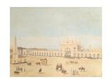 Plaza De La Victoria  Buenos Aires  1829