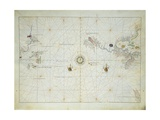Pacific Ocean  from Atlas of the World in Thirty-Three Maps  1553