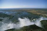 Zambia  Mosi-Oa-Tunya National Park  Victoria Falls  Aerial View