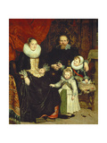 Portrait of the Artist with His Family