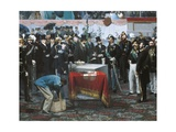 The Laying of the Cornerstone of the Galleria Vittorio Emanuele in Milan