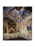 Italy  Florence  Palazzo Vecchio  Chapel of Eleonoraes  1545
