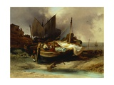 Boats on the Beach  1840