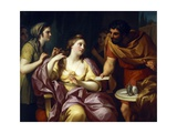 Semiramis Welcomes the News of the Revolt of Babylonian