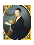 Portrait of Maddalena Goujon at the Harp