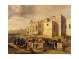 Belem Monastery and Beach  Brazil 17th Century