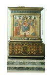 Altar with Scene known as Madonna Enthroned with Saints