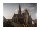Saint Stepher Cathedral in Wien  1834