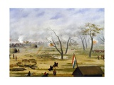 Paraguayan Army Encampment During War with Argentina