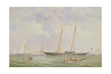 A Portrait of the 110 Ton Royal Yacht Squadron Schooner 'Viking' Off the Needles  1863