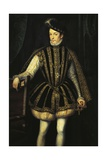 Portrait of Charles IX of Valois  King of France