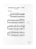 Score of Trois Sonneries De La Rose Croix  1892