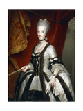 Portrait of Maria Carolina of Austria  Queen of Naples