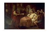 Alexander the Great and His Physician Philip  1839