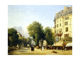 France  Paris  Boulevard Des Capucines at Corner of Rue De La Paix  1823