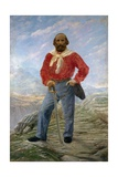 Portrait of Garibaldi with Saber and Red Shirt