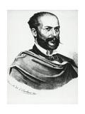 Portrait of Italian Poet  Arnaldo Fusinato