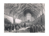 State Trial in Westminster Hall in the Time of Elizabeth I