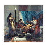 Virgil Reading Aeneid to Augustus  Octavia  and Livia