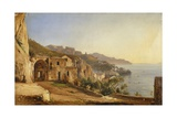 View of Amalfi from the Cave of the Capuchins