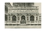 The Loggia of the Bell Tower in Venice  1886  Italy