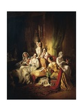 Girls after the Dance  1850