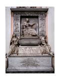 Sepulchral Monument to Carlo Finelli  1856 - 1857