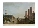 Egypt  Alexandria  Granite Pillars of Portico of Canopus  1804