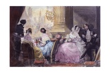 Scene from in Summer in Paris by Jules Janin  1844