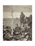 British Troops Encampment  1884  Colonial Wars  Sudan