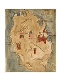 Greece  Chios Island  Chio Scio from the Latin Manuscript