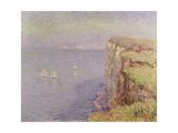 Cliffs in Normandy  1901