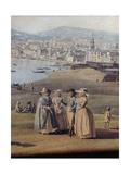 Naples from Magdalene Bridge  1791